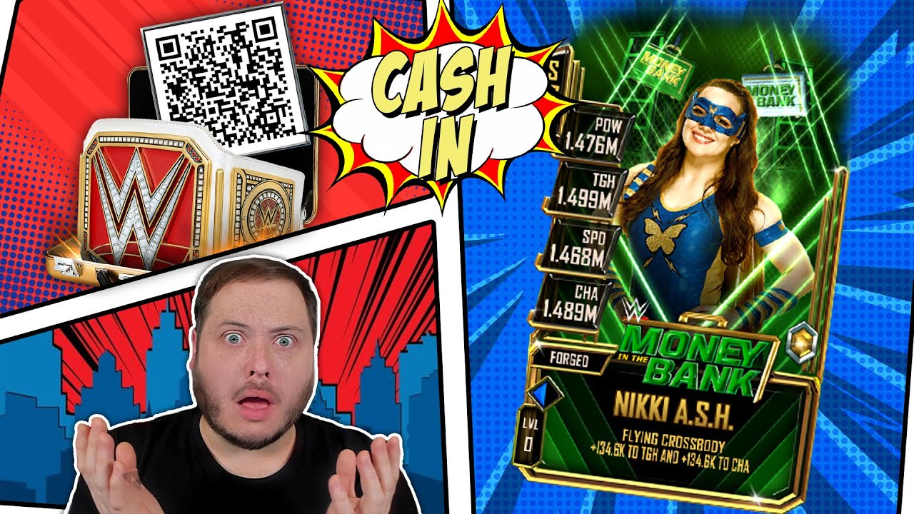 It's Been A Year Since I Cashed In... Summer QR Code!   WWE SuperCard