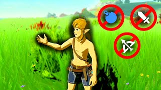 Can I beat Breath of the Wild WITHOUT WEAPONS?