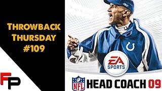 NFL Head Coach 09 - Throwback Thursday Ep. 109