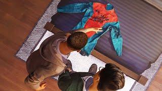 Miles Creates His Own Suit - Spider-Man Miles Morales