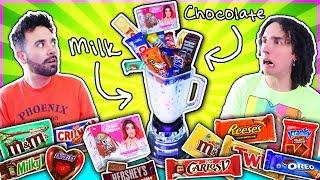 Mezclamos todos los CHOCOLATES del super mercado 🍫