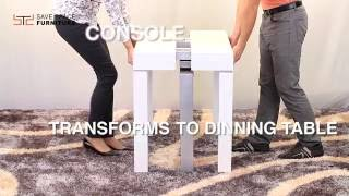 Infinity - Console to Dining Space Saving Table