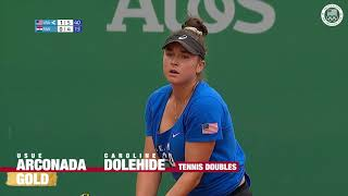 Usue Arconada & Caroline Dolehide Win Gold In The Women's Doubles | Pan American Games Lima 2019