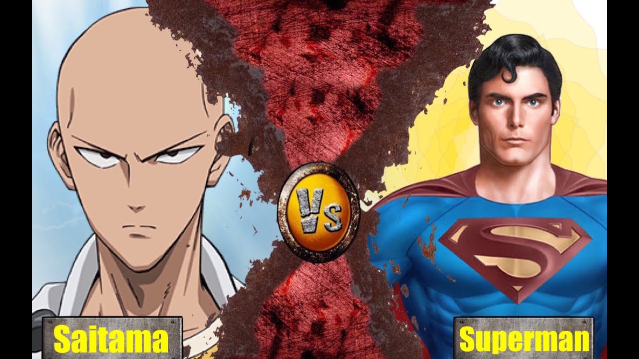 SAITAMA One Punch Man VS SUPERMAN Of Steel Animation