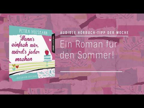Wenn's einfach wär, würd's jeder machen YouTube Hörbuch Trailer auf Deutsch