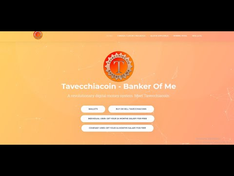 3000$ Dollar Per Month Free Way To Earn Money (Tavecchia Coin 1 = 511USD)