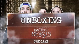 Fantastic Beasts and Where to Find Them UNBOXING THE CASE!
