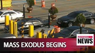 Mass exodus begins as South Koreans head out of Seoul to enjoy Chuseok