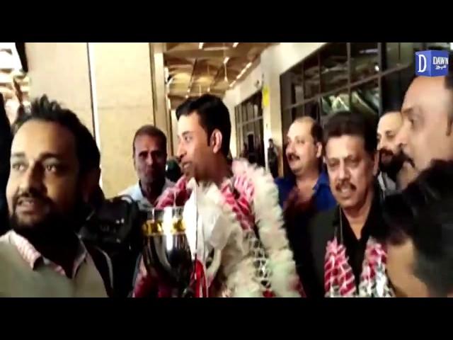World snooker championship jeetay waly Muhammad Asif Karachi pohonch gay