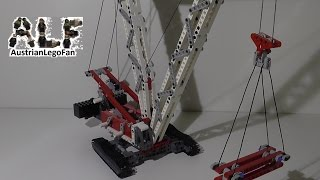 Lego Technic 8288 Crawler Crane / Raupenkran - Lego Speed Build Review