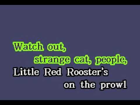 DK091 11   Rolling Stones, The   Little Red Rooster [karaoke]