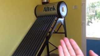 видео Как работает солнечный коллектор. Часть 2