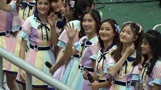 บรรยากาศน้องๆ รุ่น2 โชว์ที่สนามราชมังคลาฯ | BNK48 (Gen2) | GSB Bangkok Cup 2018 | 11.9.18