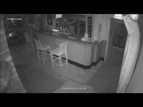 Stranger Zone - Security Camera Spots Stool Being Moved by Ghost