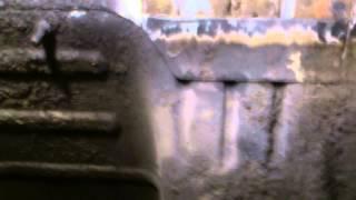 2110 Ремонт места крепления нижней подушке