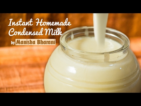Instant Homemade Condensed Milk In 2 Minutes - Basic Recipe - Basic Recipe|Using Milk Powder