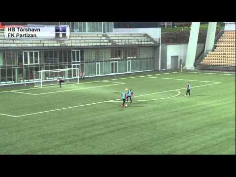 FSF Varpið. HB Tórshavn - FK Partizan.