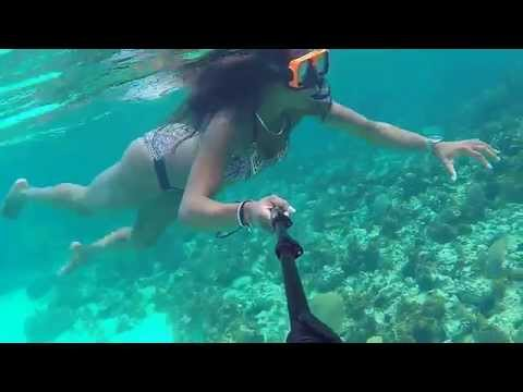 Snorkeling in Negril Jamaica ( seven mile beach) GO PRO