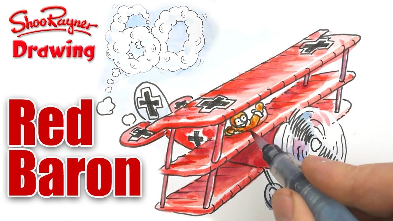 how to draw a ww1 fighter plane