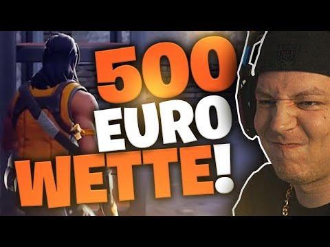 Wer ÜBERLEBT am längsten (500 Euro Wette Fortnite) | SpontanaBlack