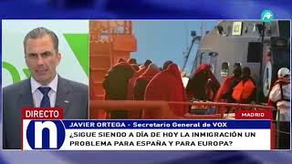 Javier Ortega Smith en Intereconomía 03/07/2019