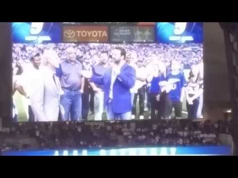 Jeff Saturday Ring of Honor Induction