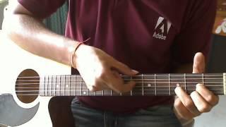 Pani Da Rang - Guitar Lesson - NJNE