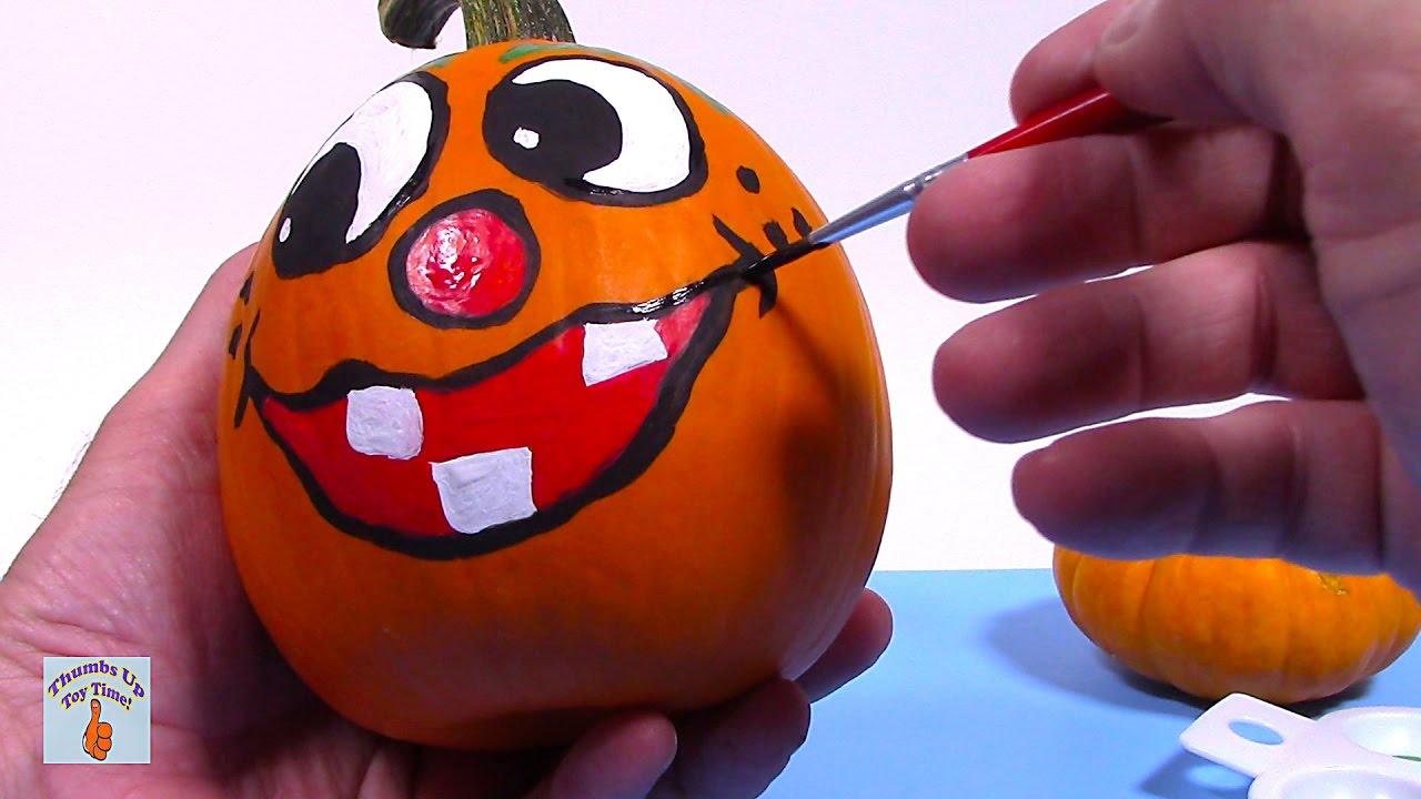 Painted Pumpkins Pumpkin Painting Ideas Faces Crafts