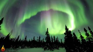 1 Hour Relaxing Ambient Music | Northern Lights | Ambient Instrumental Drone ♫462
