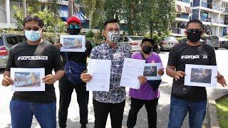 NGO buat laporan polis, bendera Perak dikibar separuh tiang
