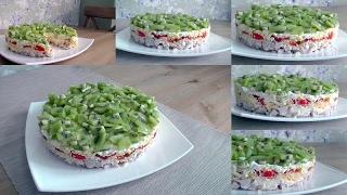 Вкусный салат на праздничный стол. Изумрудная россыпь. Конкурс!!!