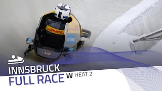 Innsbruck | Women's Monobob World Series Heat 2 | IBSF Official