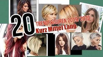 Frisuren 2019/2020 Kurz Mittel Lang Damen Frisuren was immernoch IN bleibt - saç modeli 2020