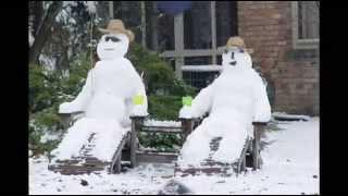 Прикольные фото снежных баб