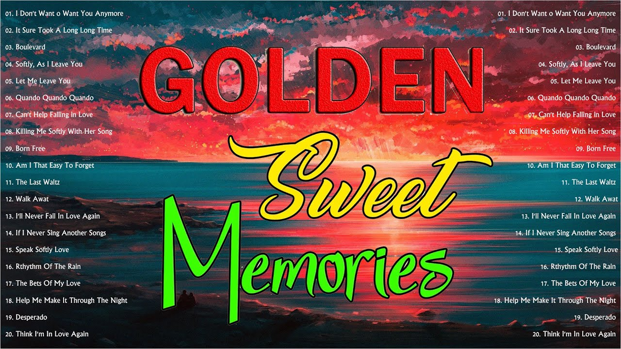 Greatest Hits Golden Oldies 50s 60s 70s - Nonstop Medley Oldies Classic Legendary Hits
