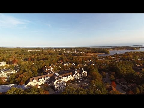 OceanView at Falmouth - Aerial View of Maine's 21st Century Retirement Community