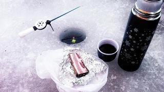 Ловля рыбы со льда в январе 2017 г.  Нагатинский затон - С Рыбалкой на Ты! выпуск №32.