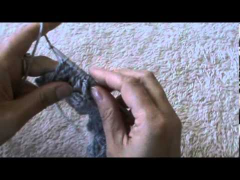 crochet jasmin stitch in rows and rounds