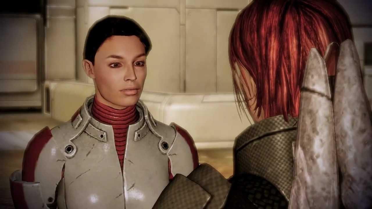 Mass Effect 2 Femshepashley Horizon Reunion Romance -5647