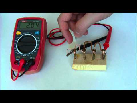 free energy - water corrosion cell under 2 minutes