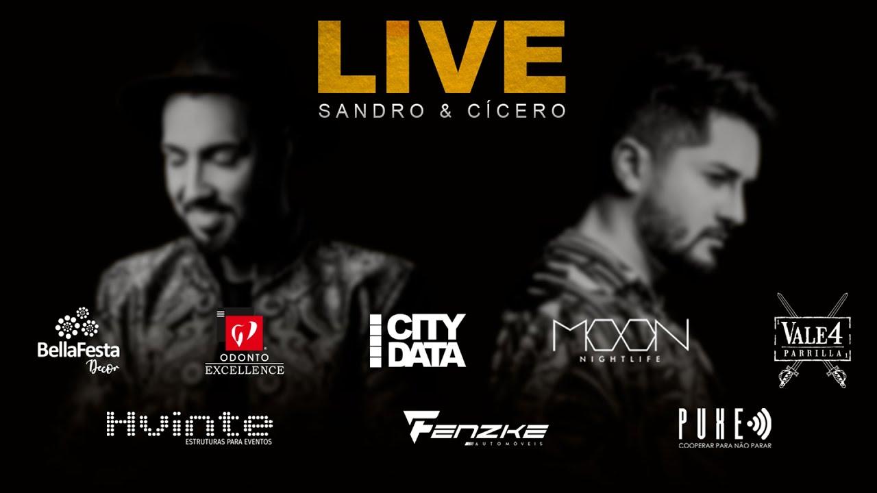 Capa do vídeo LIVE ESQUENTA - SANDRO E CICERO