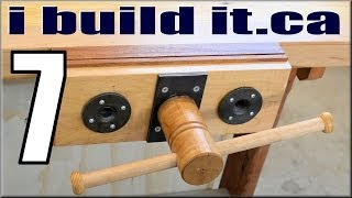 Making A Woodworking Vise, Part 7 Of 10