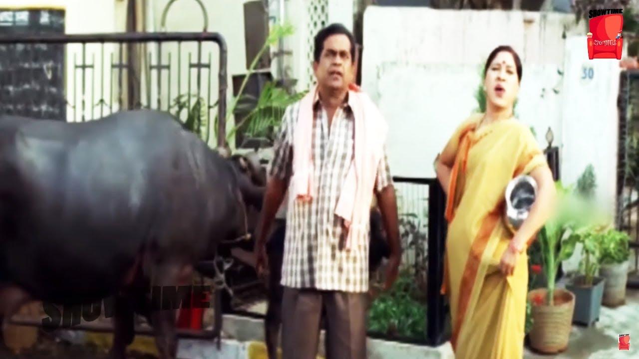 Brahmanandam & Kovai Sarala Best Comedy Scene   Top Comedy   Show Time Videos