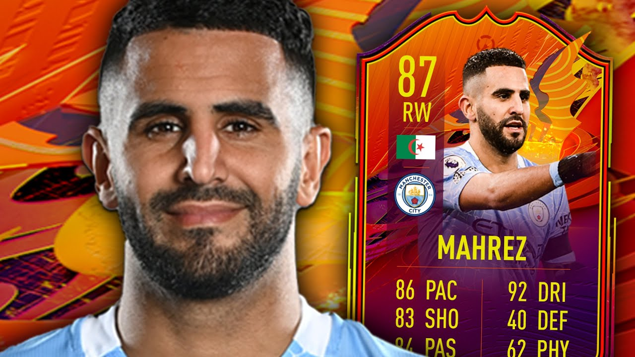FIFA 21 HEADLINER MAHREZ 87 PLAYER REVIEW - YouTube