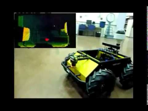 Navigation Strategies For Mobile Robot by Sivam Pillai on YouTube