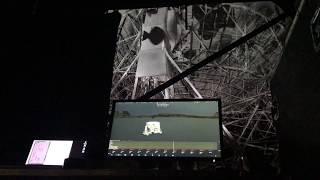 installation for bluedot festival