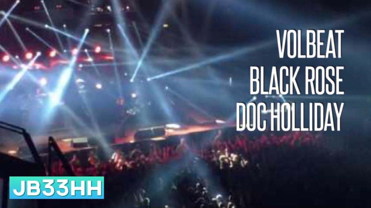 Volbeat - Black Rose / Doc Holliday (28 10 2016 - Volkspark Arena Hamburg)  live HD