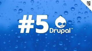 Cms Drupal 7 для начинающих - #5 - Обзор панели инструментов и ярлыков Drupal 7