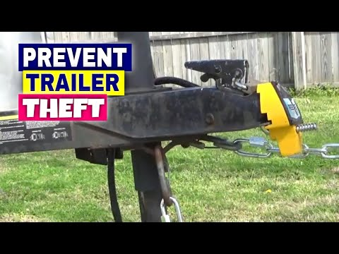 PREVENT TRAILER THEFT Removable Safety Chains Cargo Trailer Camper Conversion  Enclosed Trailer