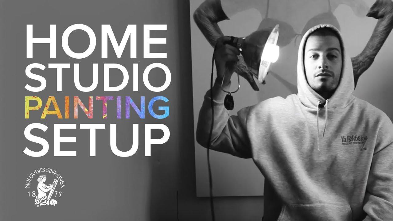 """How Do I Setup My At-Home Painting Studio?"" with Jason Bard Yarmosky"